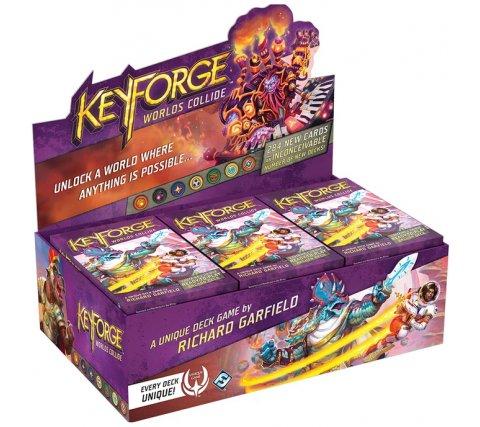 KeyForge Archon Deck Display: Worlds Collide (12 decks)