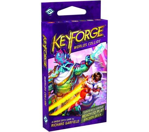 KeyForge Archon Deck: Worlds Collide