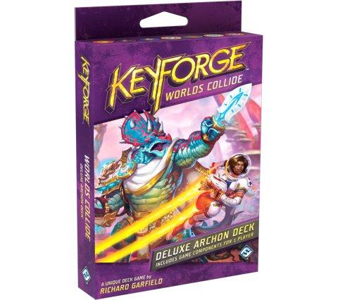 KeyForge Deluxe Archon Deck: Worlds Collide