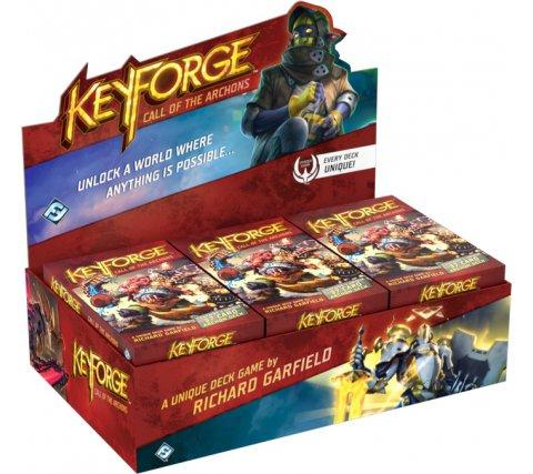 KeyForge Archon Deck Display: Call of the Archons (12 decks)