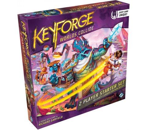 KeyForge Starter Set: Worlds Collide