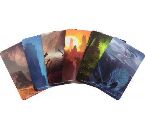 Magic Card Dividers: Khans of Tarkir (6 stuks)