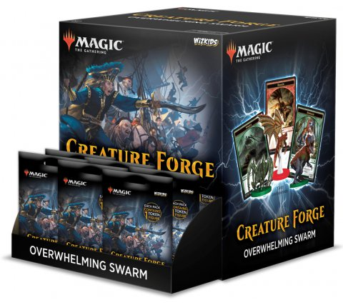 Creature Forge Tokens Display: Overwhelming Swarm