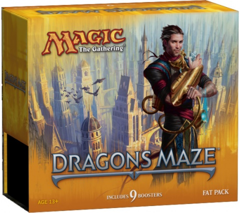 Magic Card Box Dragon's Maze