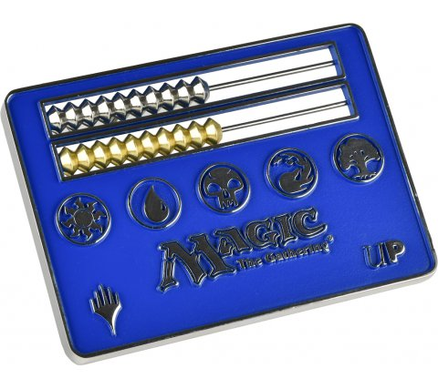 Card Size Abacus Life Counter - Magic: the Gathering: Blue