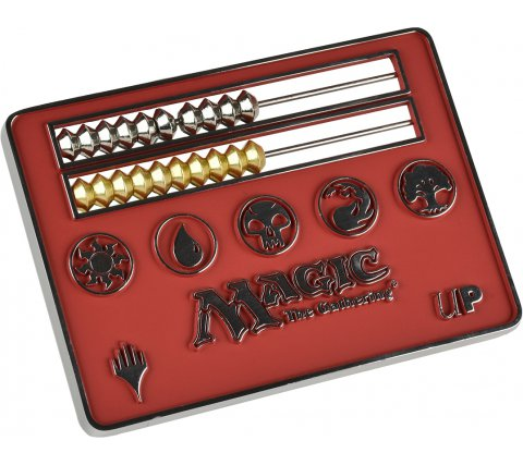 Card Size Abacus Life Counter - Magic: the Gathering: Red
