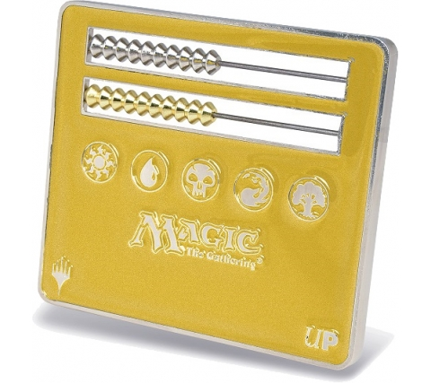 Abacus Life Counter - Magic: the Gathering: Gold
