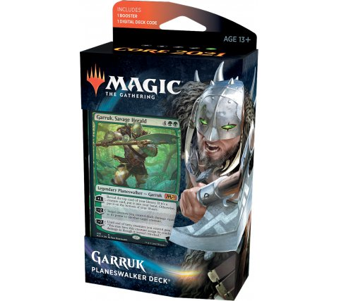 Planeswalker Deck Core Set 2021: Garruk