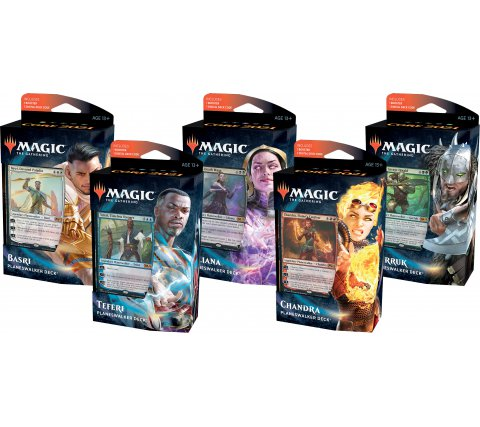 Planeswalker Deck Core Set 2021 (set of 5)