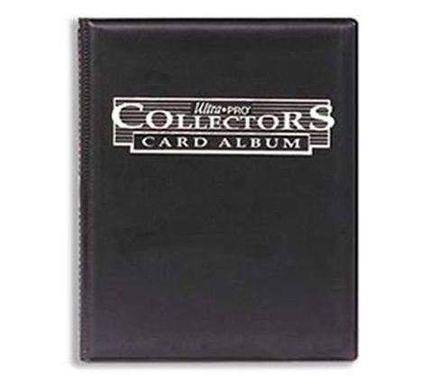 4 Pocket Portfolio Collectors Black