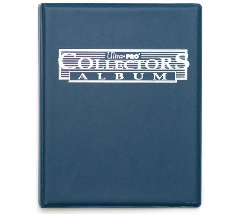 9 Pocket Portfolio Collectors Blue