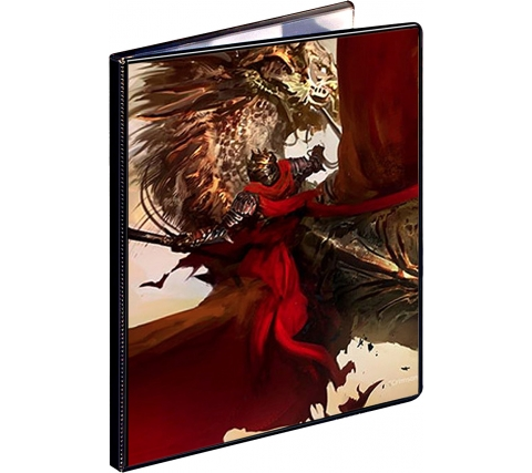 9 Pocket Portfolio Crimson Rider