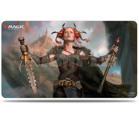 Playmat Commander Legends: Jeska, Thrice Reborn