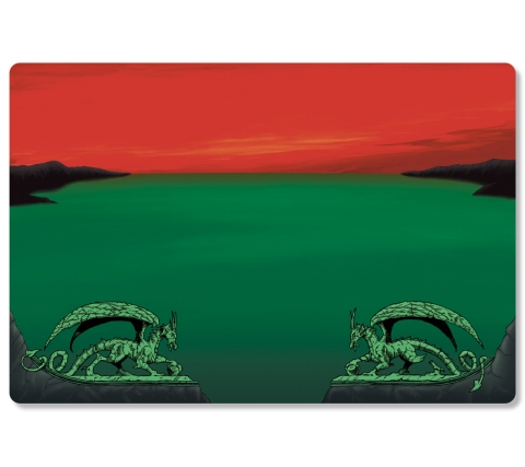 Dragon Shield Playmat Red Zone