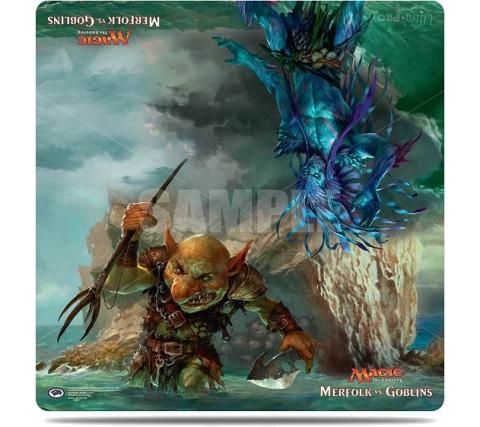 Duel Playmat Merfolk vs. Goblins