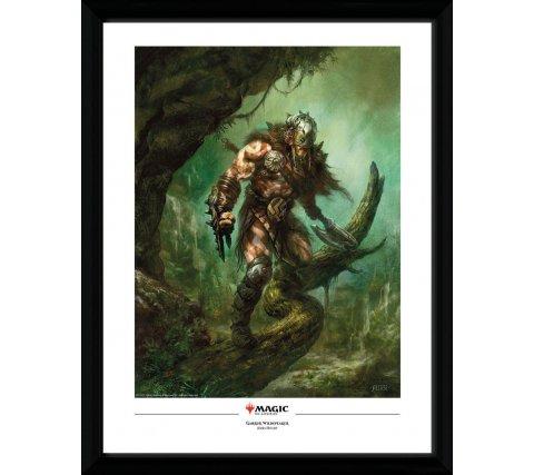 Framed Poster: Garruk Wildspeaker