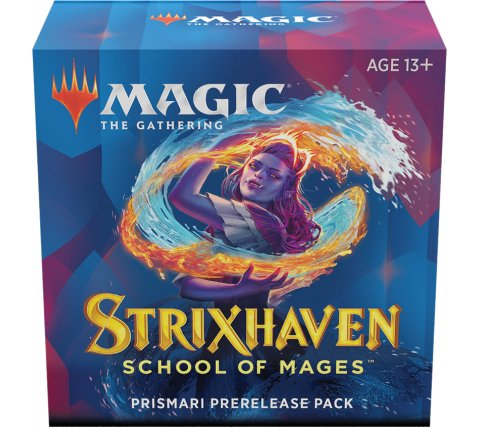 Prerelease Pack Strixhaven: Prismari (+ free booster Strixhaven: School of Mages)
