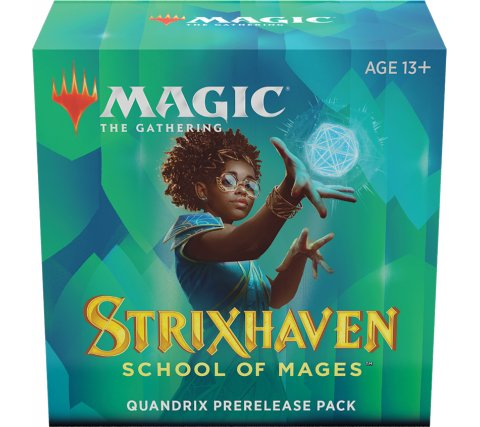 Prerelease Pack Strixhaven: Quandrix (+ free booster Strixhaven: School of Mages)