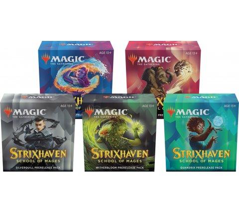 Prerelease Pack Strixhaven: School of Mages (set of 5) (+ 5 free boosters Strixhaven: School of Mages)
