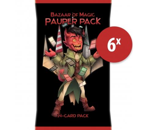 Pauper Pack (6 stuks)