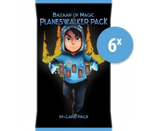 Planeswalker Pack (6 stuks)
