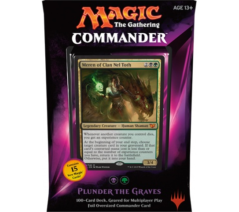 Commander 2015: Plunder the Graves