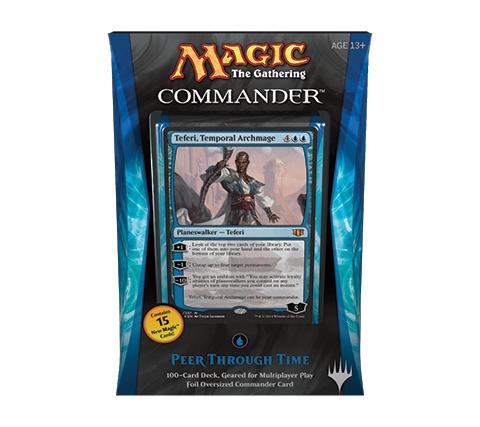 Commander 2014: Peer Through Time