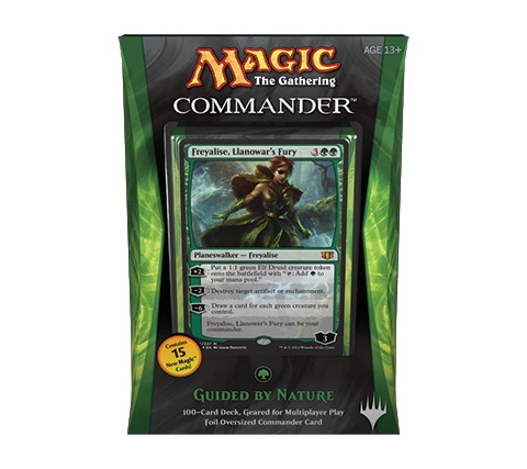 Commander 2014: Guided by Nature