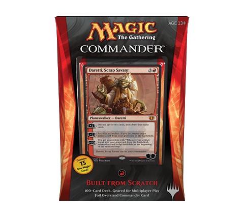 Commander 2014: Built from Scratch