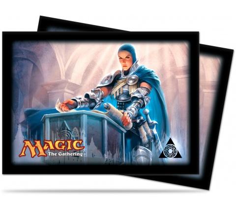Sleeves Dragon's Maze: Azorius (80 stuks)