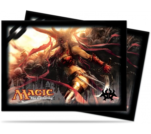 Sleeves Dragon's Maze: Rakdos (80 stuks)