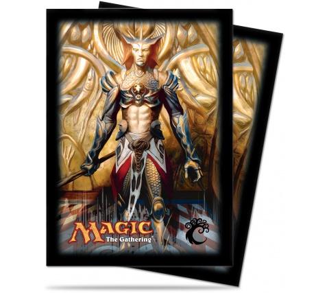 Sleeves Dragon's Maze: Simic (80 stuks)