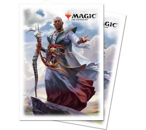 Sleeves Dominaria: Teferi, Hero of Dominaria (80 stuks)