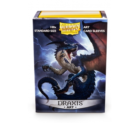 Dragon Shield Art Sleeves Classic Draxis (100 stuks)