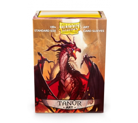 Dragon Shield Art Sleeves Classic Tanur (100 stuks)