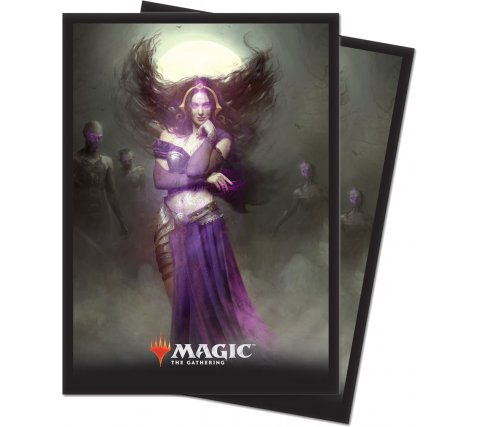 Sleeves Core Set 2019: Liliana, Untouched by Death (80 stuks)