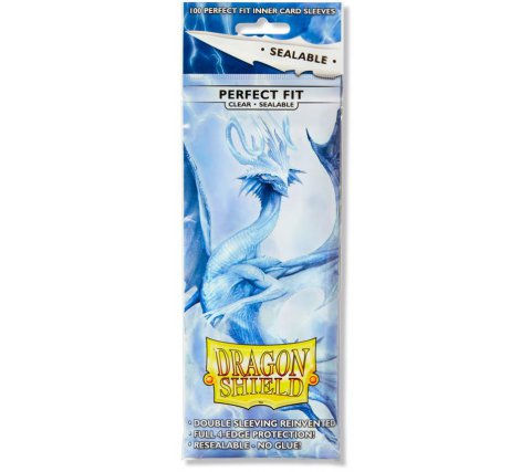 Dragon Shield Sleeves Perfect Fit Sealable Clear (100 stuks)