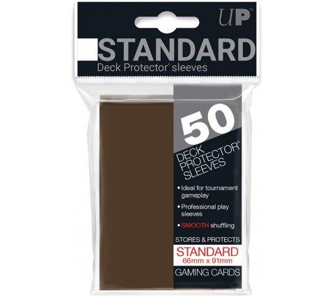 Deck Protectors Solid Brown (50 stuks)