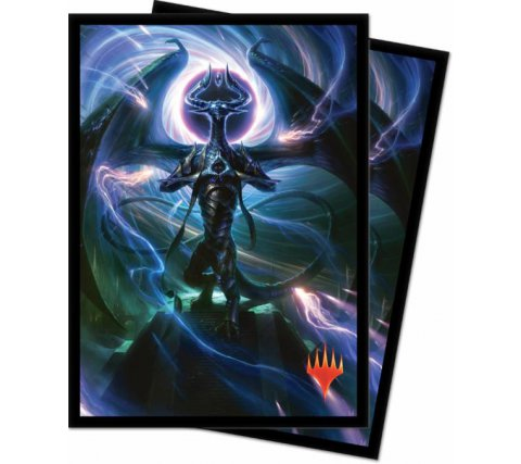 Sleeves War of the Spark: Nicol Bolas, Dragon-God (100 stuks)