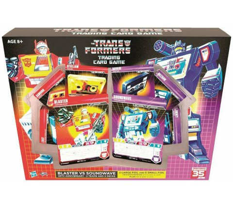 Starter Set Transformers TCG: Blaster vs. Soundwave 35th Anniversary Edition