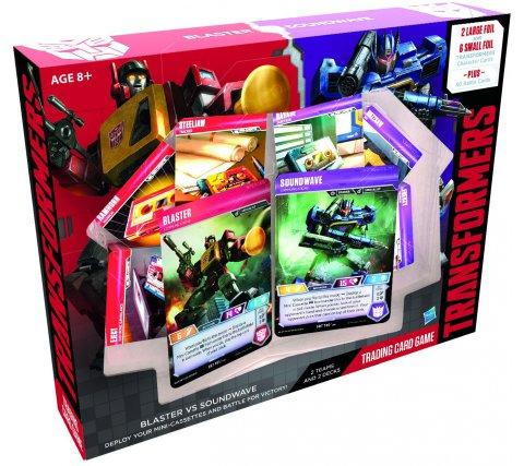 Starter Set Transformers TCG: Blaster vs. Soundwave