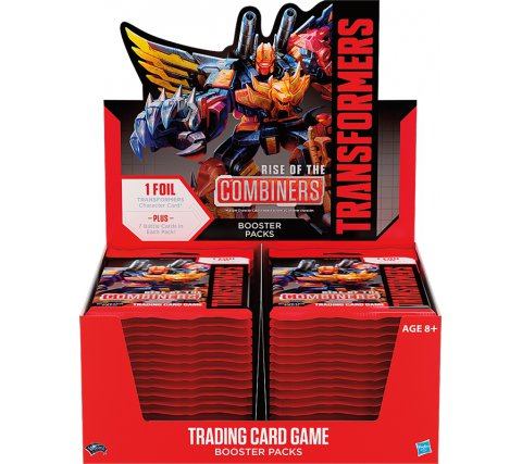 Booster Display Transformers TCG: Rise of the Combiners