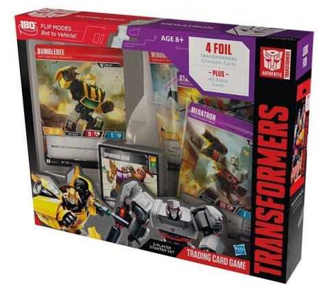 Starter Set Transformers TCG: Bumblebee vs Megatron