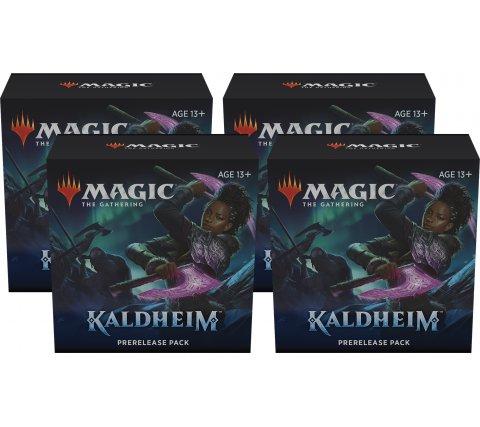 Prerelease Pack Kaldheim (set of 4) (+ 4 free boosters Kaldheim)
