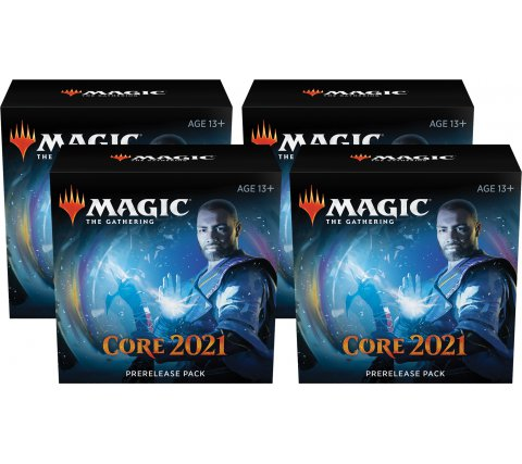 Prerelease Pack Core Set 2021 (set of 4) (+ 4 free boosters Core 2021))