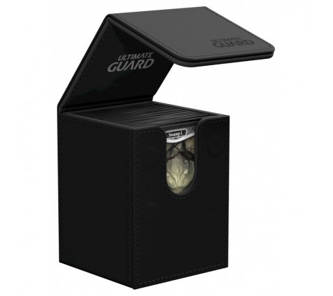 Ultimate Guard Flip Deck Case 100+ Leatherette Black