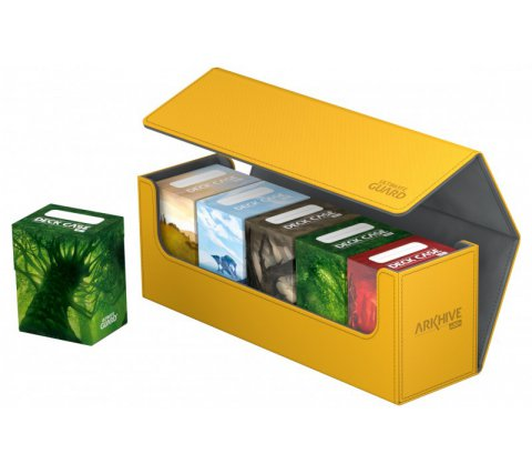 Ultimate Guard ArkHive Flip Case 400+ Amber