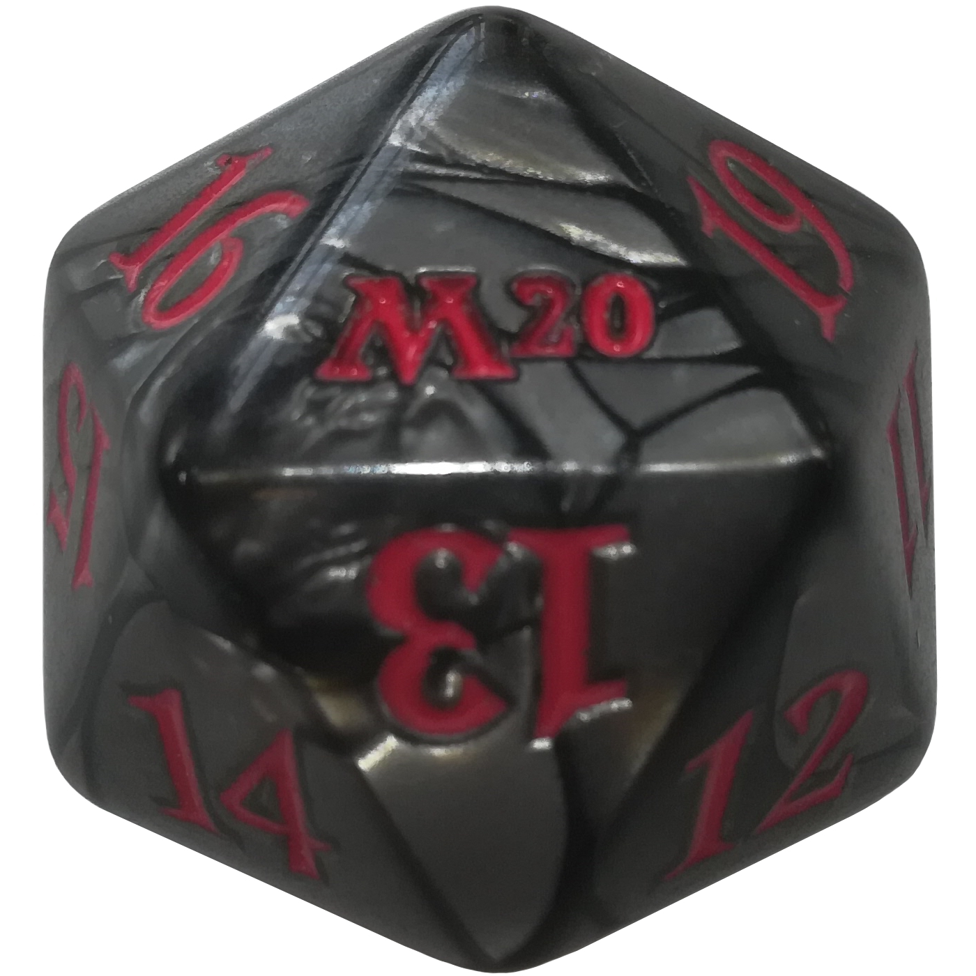 Core Set 2020 D20 Oversized Dice Spin Down MTG Magic the Gathering