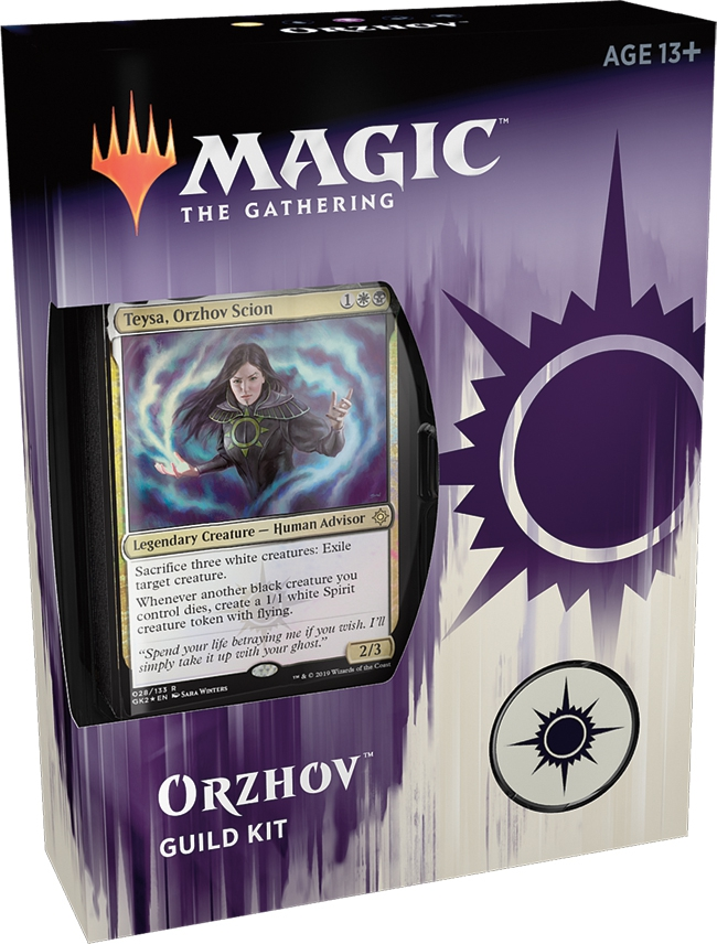 Ravnica Allegiance Guild Kit Orzhov Magic The Gathering Bazaar Of Magic I'm throwing together a teysa, orzhov scion deck for casual multiplayer. ravnica allegiance guild kit orzhov