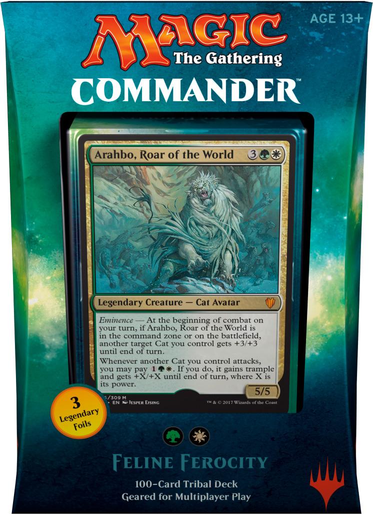 MTG Seht/'s Tiger English, Commander 2017, Free P/&P